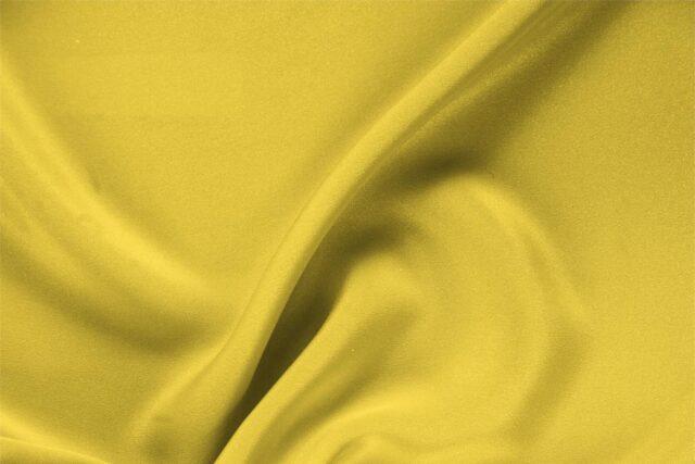 Tissu Uni Drap Jaune primula en Soie pour Jupe, Pantalon, Robe, Robe de cérémonie, Veste.