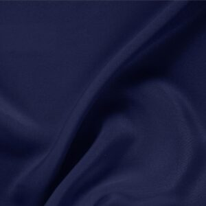 Marine Blue Silk Drap Plain fabric for Ceremony Dress, Dress, Jacket, Pants, Skirt.