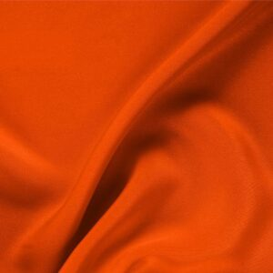 Corallo Orange Silk Drap Plain fabric for Ceremony Dress, Dress, Jacket, Pants, Skirt.
