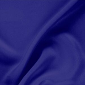 Persia Blue Silk Drap Plain fabric for Ceremony Dress, Dress, Jacket, Pants, Skirt.