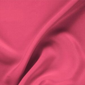 Petunia Fuxia Silk Drap Plain fabric for Ceremony Dress, Dress, Jacket, Pants, Skirt.