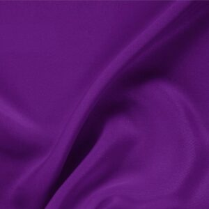 Mirtillo Purple Silk Drap Plain fabric for Ceremony Dress, Dress, Jacket, Pants, Skirt.