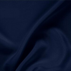 Navy Blue Silk Drap Plain fabric for Ceremony Dress, Dress, Jacket, Pants, Skirt.