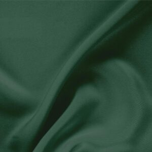 Pine Green Silk Drap Plain fabric for Ceremony Dress, Dress, Jacket, Pants, Skirt.