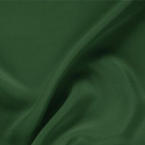 Shaded Spruce Green Silk Drap Plain fabric for Ceremony Dress, Dress, Jacket, Pants, Skirt.