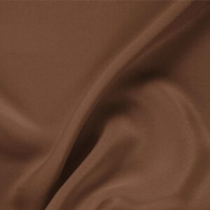 Walnut Brown Silk Drap Plain fabric for Ceremony Dress, Dress, Jacket, Pants, Skirt.