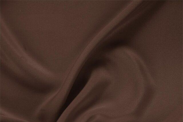 Dark Brown Silk Drap Plain fabric for Ceremony Dress, Dress, Jacket, Pants, Skirt.
