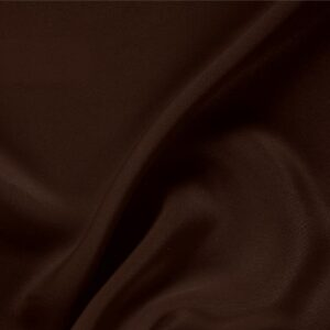 Caffe Brown Silk Drap Plain fabric for Ceremony Dress, Dress, Jacket, Pants, Skirt.