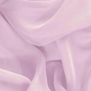 Fairy Pink Silk Chiffon Plain fabric for Ceremony Dress, Dress, Party dress, Shirt, Wedding dress.