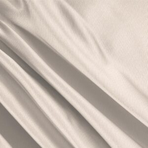 Cream Beige Silk Dogaressa Plain fabric for Ceremony Dress, Dress, Jacket, Party dress, Skirt, Underwear, Wedding dress.