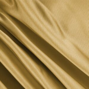 Mustard Yellow Silk Dogaressa Plain fabric for Ceremony Dress, Dress, Jacket, Party dress, Skirt, Underwear.