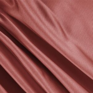 Mattone Brown Silk Dogaressa Plain fabric for Ceremony Dress, Dress, Jacket, Party dress, Skirt, Underwear.