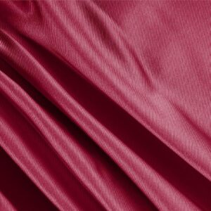 Ruby Red Silk Dogaressa Plain fabric for Ceremony Dress, Dress, Jacket, Party dress, Skirt, Underwear.