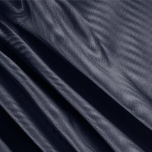 Buio Blue Silk Dogaressa Plain fabric for Ceremony Dress, Dress, Jacket, Party dress, Skirt, Underwear.