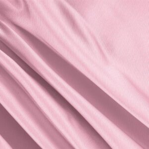Petalo Pink Silk Dogaressa Plain fabric for Ceremony Dress, Dress, Jacket, Party dress, Skirt, Underwear, Wedding dress.