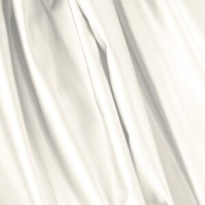 Avorio White Silk Duchesse Plain fabric for Ceremony Dress, Dress, Jacket, Light Coat, Party dress, Skirt, Wedding dress.