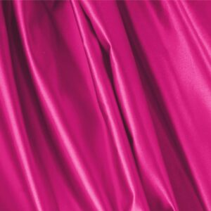 Bouganville Fuxia Silk Duchesse Plain fabric for Ceremony Dress, Dress, Jacket, Light Coat, Party dress, Skirt.