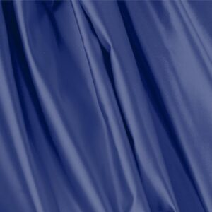 Mare Blue Silk Duchesse Plain fabric for Ceremony Dress, Dress, Jacket, Light Coat, Party dress, Skirt.