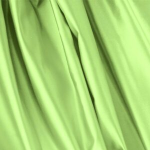 Lime Green Silk Duchesse Plain fabric for Ceremony Dress, Dress, Jacket, Light Coat, Party dress, Skirt.