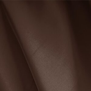 Moro Brown Silk Faille Plain fabric for Ceremony Dress, Dress, Party dress.