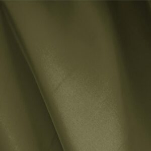 Moss Green Silk Faille Plain fabric for Ceremony Dress, Dress, Party dress.