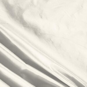 Avorio White Silk Taffeta Plain fabric for Ceremony Dress, Dress, Jacket, Light Coat, Party dress, Wedding dress.
