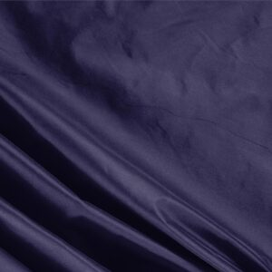 Notte Blue Silk Taffeta Plain fabric for Ceremony Dress, Dress, Jacket, Light Coat, Party dress.