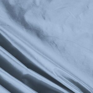 Celeste Blue Silk Taffeta Plain fabric for Ceremony Dress, Dress, Jacket, Light Coat, Party dress, Wedding dress.