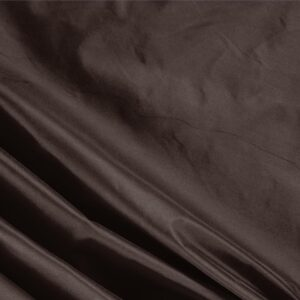 Testa Di Moro Brown Silk Taffeta Plain fabric for Ceremony Dress, Dress, Jacket, Light Coat, Party dress.