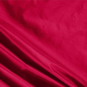 Rubino Red Silk Taffeta Plain fabric for Ceremony Dress, Dress, Jacket, Light Coat, Party dress.