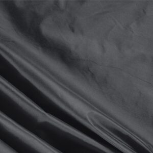 Anthracite Gray Silk Taffeta Plain fabric for Ceremony Dress, Dress, Jacket, Light Coat, Party dress.