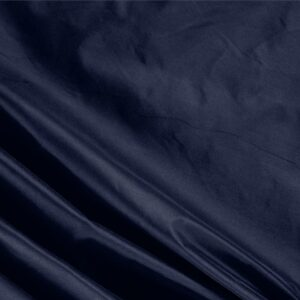 Inchiostro Blue Silk Taffeta Plain fabric for Ceremony Dress, Dress, Jacket, Light Coat, Party dress.