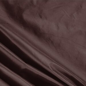 Chocolate Brown Silk Taffeta Plain fabric for Ceremony Dress, Dress, Jacket, Light Coat, Party dress.