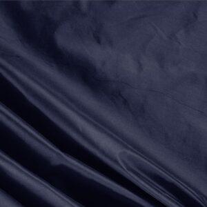 Tessuto Unito Taffetas Blu Navy in Seta per Abito, Abito da Cerimonia, Abito da Sera, Giacca, Spolverino.