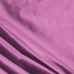 Tissu Uni Taffetas Rose Azalea en Soie pour Robe, Robe de cérémonie, Robe de soirée, Veste, Veste-Manteau légère.