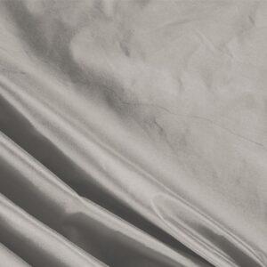 Tissu Uni Taffetas Gris Sasso en Soie pour Robe, Robe de cérémonie, Robe de soirée, Veste, Veste-Manteau légère.