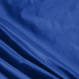 Royale Blue Silk Taffeta Plain fabric for Ceremony Dress, Dress, Jacket, Light Coat, Party dress.