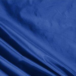 Tessuto Unito Taffetas Blu Royale in Seta per Abito, Abito da Cerimonia, Abito da Sera, Giacca, Spolverino.