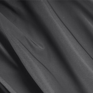 Antracite Gray Silk Radzemire Plain fabric for Ceremony Dress, Jacket, Party dress, Skirt.