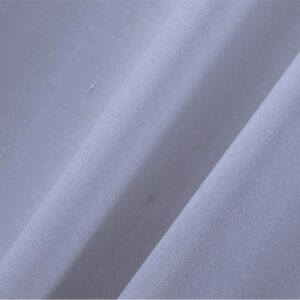 Cloud Blue Cotton, Silk Double Shantung Plain fabric for Ceremony Dress, Dress, Jacket, Pants, Skirt.