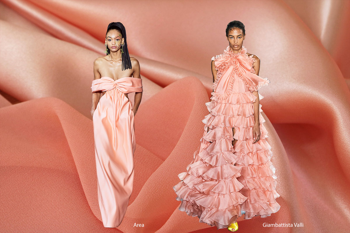 Spring 2020 Color Trends: Peach Nougat | new tess fabrics