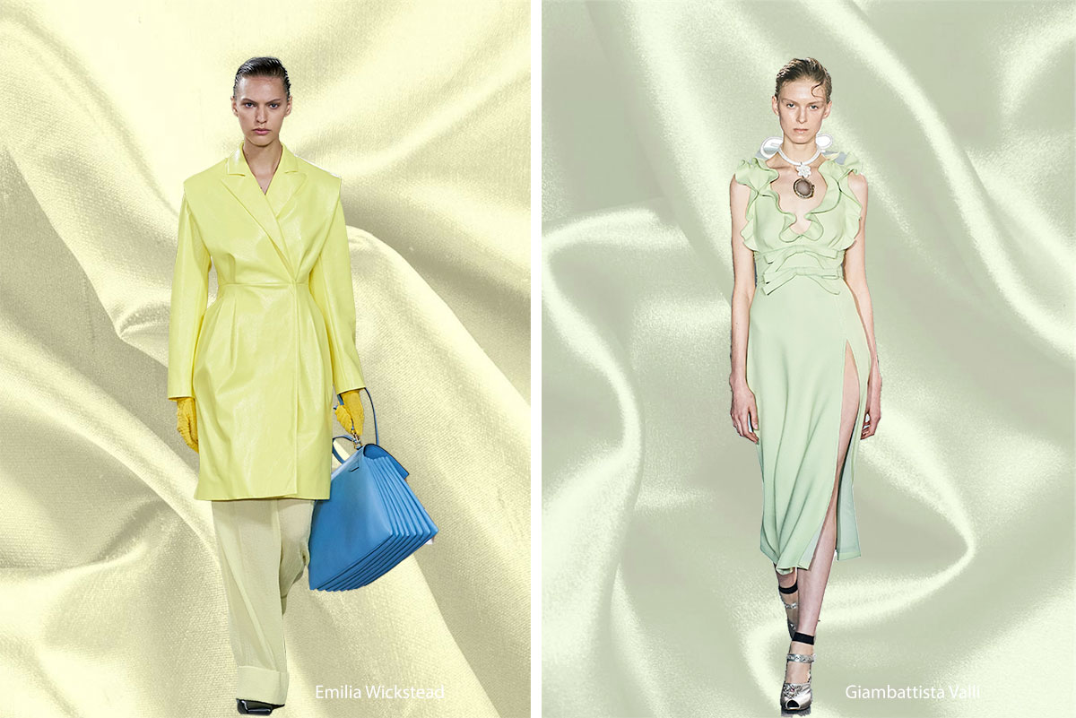 Spring 2020 Color Trends: Yellow Iris and Pistachio Green | new tess fabrics