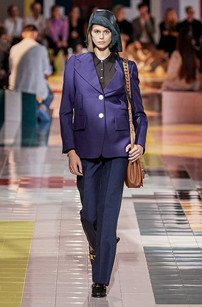 classic Blue - Prada Ready-to-Wear Spring 2020