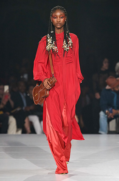 Fiery Red - Pyer Moss Ready-to-Wear Spring 2020