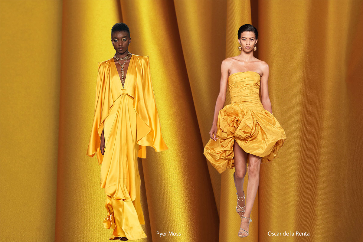 Spring 2020 Color Trends: Saffron | new tess fabrics