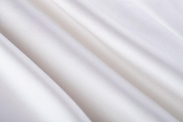 Tessuto mikado di pura seta bianco per abito da sposa | new tess