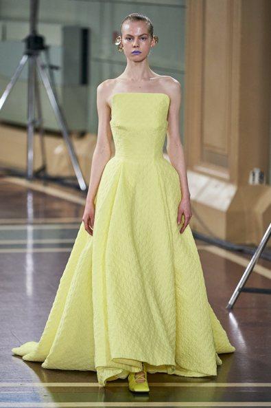 Giallo Iris - Emilia Wickstead Ready-to-Wear Spring 2020