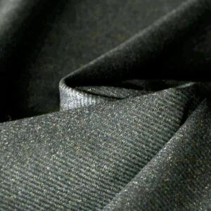 Green Wool Fine Suit fabric for Jacket, Pants, Skirt.