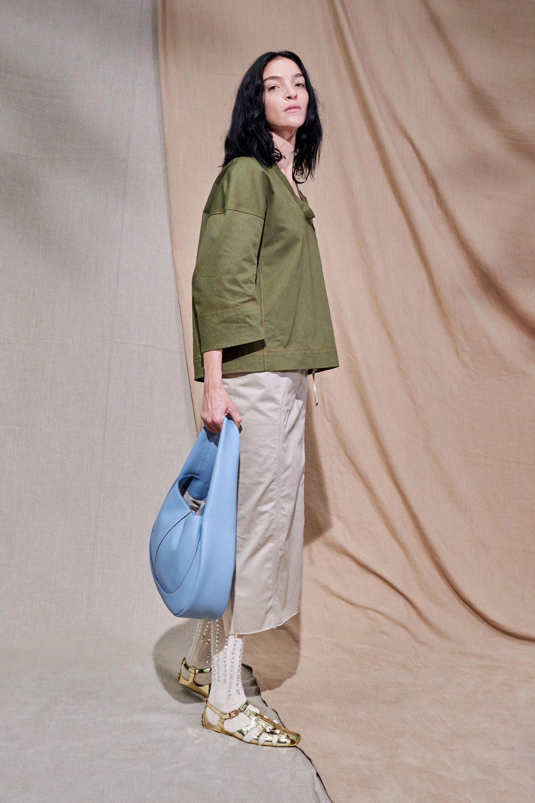 Verde Muschio - Tod's Ready-to-Wear Spring 2020
