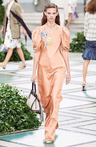 Peach Nougat - Tory Burch Ready-to-Wear Spring 2020